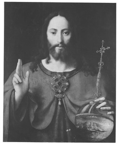 Christus als Salvator Mundi