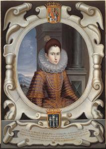 Portret van Luisa Moncada, gravin van Santa Gádea (?-na 1624)