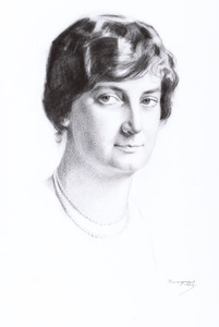 Portret van Elisabeth Maria Ludwina van Rijckevorsel (1887-1966)