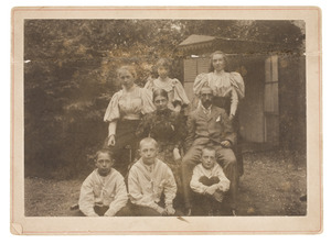 Portret van familie Gülcher