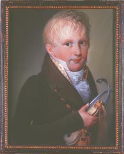 Portret van Maximilianus Joannes Egidius Everhardus Canisius van der Heyden (1805-1818)