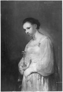Portret van Sofonisba met de gifbeker