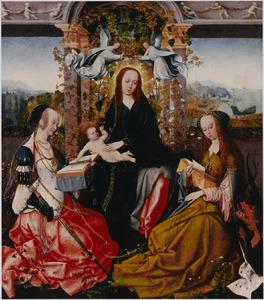Maria met het kind en de HH. Catharina van Alexandrië en Margaretha van Antiochië