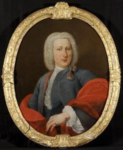 Portret van Mr. Michiel van Bolhuis (1713-1784)