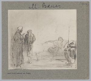 Jozef wordt verkocht aan Potifar