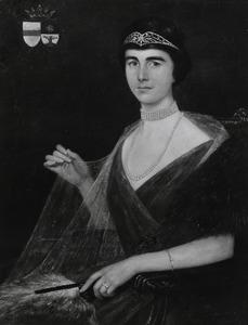 Portret van Agatha Gertruida Wilhelmina de Bordes (1899-1985)