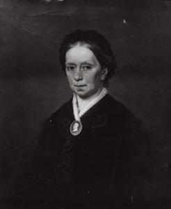 Portret van Clara Henriette Nicoline Holmberg de Beckfelt (1820-1891)