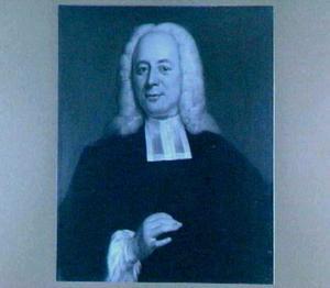 Portret van Johannes Horthemels (1698-1776), hoogleraar in de Wijsbegeerte in Utrecht 1742-1776