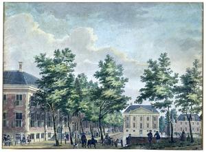 De Korte Vijverberg gezien naar het Mauritshuis in Den Haag