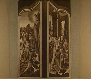 God deelt koning Salomo zijn straf mee voor zijn afgoderij (1 Koningen  11:9-13); de koningin van Seba knielt voor koning Salomo (1 Koningen 10:1-2)