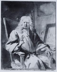 Portret van de kunstverzamelaar Cornelis van Lill (1666-1743)