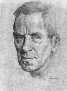 Portret van Pieter Jacobus van Boxel (1912-2001)