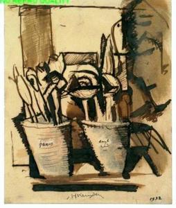 Crocussen in potten