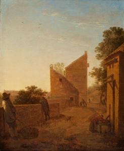 De westelijke stadswal van Utrecht