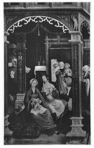 De geboorte van de H. Rochus