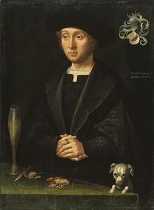 Portret van een lid van de familie Alardes
