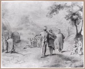 Mozes maakt het bittere water van Mara zoet (Exodus 15:22-27)