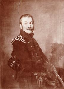 Portret van een man, waarschijnlijk Hendrik Wesseling (1784-1858)