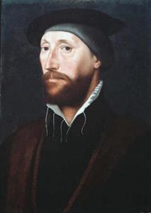 Portret van Thomas Le Strange van Hunstanton