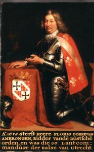Portret van Floris Borre van Amerongen (1602-1675)