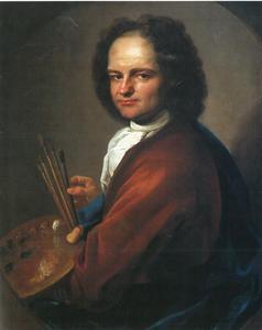 Portret van de schilder George Blendinger (1667-1741)
