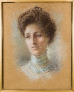 Portret van Cornelia Elisabeth barones van Heemstra (1867-1901)