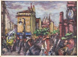 Straatleven in Parijs