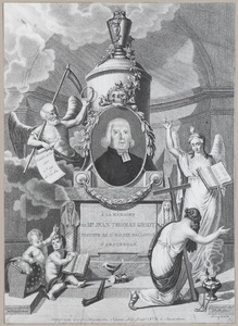Portret van Jean Thomas Griot (1743-1817) met allegorische figuren
