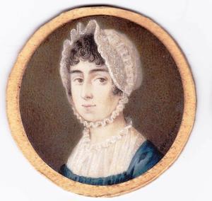 Portret van een onbekende vrouw, mogelijk uit de familie Pabst