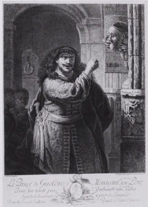 'Le Prinçe de Gueldre menaçant son pere'