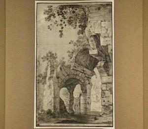 Ruïne van het Colosseum te  Rome