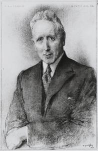 Portret van Henri Louis van Eeghen (1887-1976)