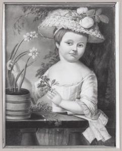 Portret van een meisje, waarschijnlijk Dorothée Hermine Cazaux (1775-?)