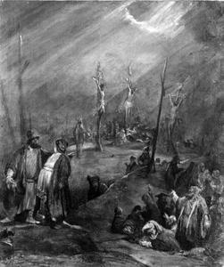 De Kruisiging (Mattheus 27:35 / Lukas 23:44-48)