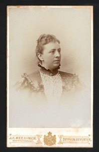 Portret van A.J.T. ter Haar