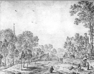 De Utrechtse stadswal met de Servaastoren