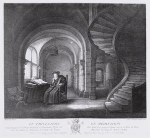 Le philosophe en méditation (authentiek)