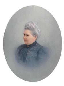 Portret van Louise Charlotte Mathilde van den Bosch (1843-1907)