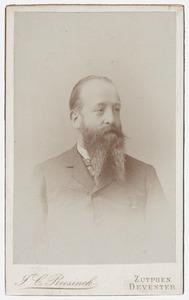 Portret van Otto van Wassenaer (1850-1911)