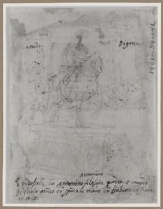 Ruiterstandbeeld van keizer Antoninus en Commodus