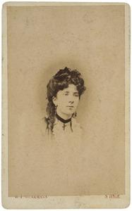 Portret van Cecile Badolles