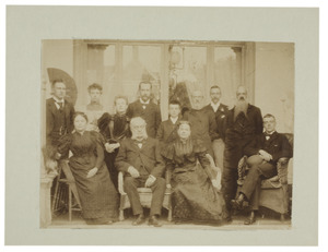 Portret van familie Modderman