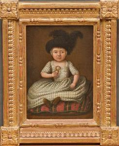 Portret van een kind (...-1777)