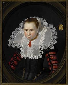 Portret van Janneken de Looper (1616-1665)