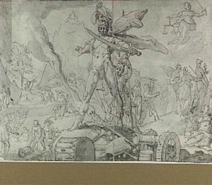 Allegorie op de oorlog