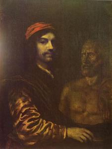 Zelfportret van Philips Koninck (1619-1688)