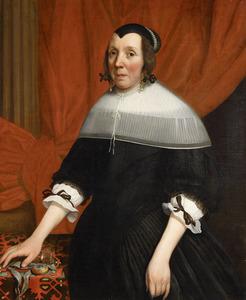Portret van Geertruid Vermeulen (....-1676)