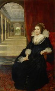 Portret van Aletheia Talbot, Countess of Arundel (?-1654)