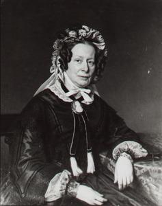 Portret van Johanna Christina Frederica Elisabeth de Vaynes van Brakell (1802-1883)