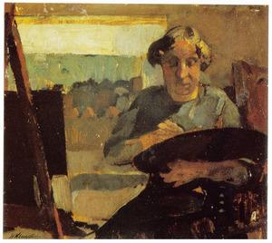 Portret van mjin vrouw